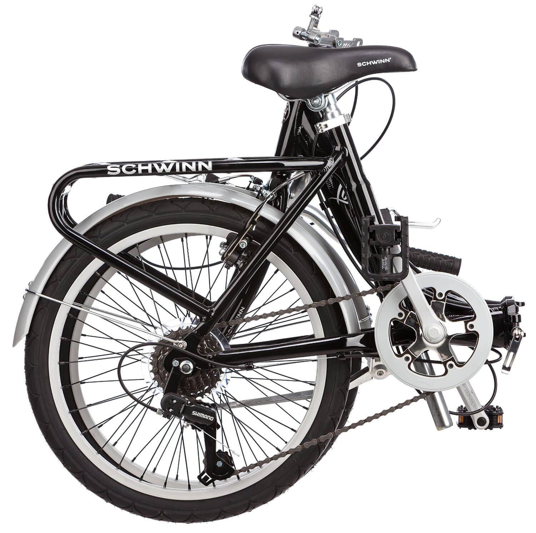 schwinn foldable bikes