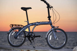 downtube folding bike