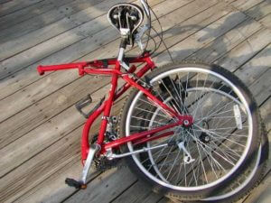 fuji folding bike