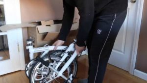 single speed folding bike
