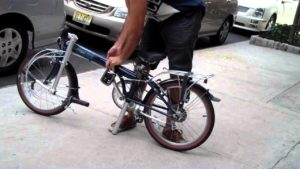single speed folding bikes