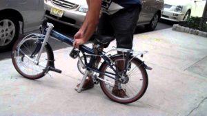 single speed folding bikes