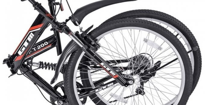 "GTM 26"" Folding Mountain Bike"
