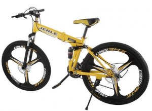VEVOR Folding Bicycles 26